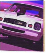 1978 Chevy Camaro Z28 Wood Print