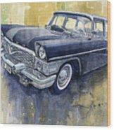 1978 Gaz Chaika M13 Wood Print
