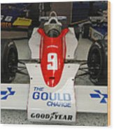 1979 Indy 500 Winning Car Of Rick Mears Wood Print