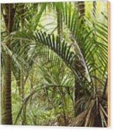 Jungle 94 Wood Print