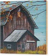 1980 Barn Wood Print
