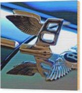1980 Bentley Hood Ornament Wood Print