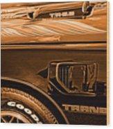 1980 Pontiac Trans Am Wood Print