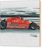 1981  Ferrari 126cx Wood Print