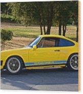 1983 Porsche Haut 911 Wood Print