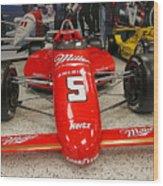 1985 Indy 500 Winner Danny Sullivan Wood Print