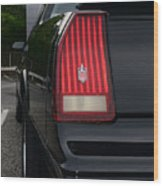 1988 Monte Carlo Ss Tail Light Wood Print