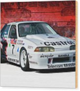 1989 Vl Commodore Walkinshaw Wood Print