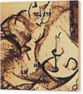 19899 Manuel Ruiz Pipo Wood Print