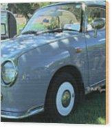 1991 Nissan Figaro Wood Print