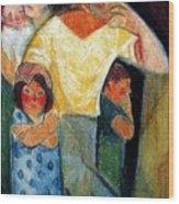 19917 Manuel Ruiz Pipo Wood Print
