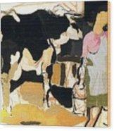 19933 Manuel Ruiz Pipo Wood Print