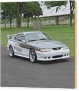 1995 Clarion Mustang Gt Herr Wood Print