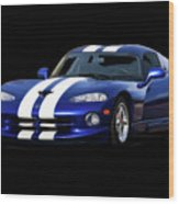 1995 Dodge Viper Coupe I Wood Print