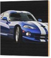 1995 Dodge Viper IIi Wood Print