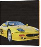 1995 Ferrari F512m Wood Print