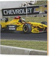 1997 Jordan 197 F1 At Road America Wood Print