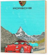 1997 Porsche 993 Twin Turbo R  Wood Print