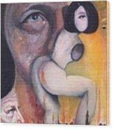 1998 Wood Print