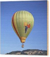 1b6347 Sonoma Thunder Hot Air Balloon Wood Print
