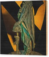 1st Cav History - Respect From Another Trooper To Another - Oil Wood Print