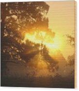 1.sunrise Wood Print