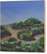 Napa Hills Wood Print