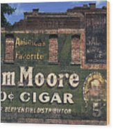 10 Cent Cigar Wood Print