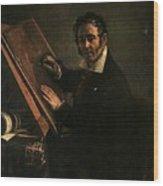 1824 Vasily Tropinin Wood Print