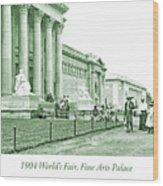 1904 World's Fair, Fine Arts Palace Wood Print