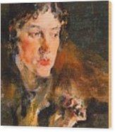 1920- Nikolay Feshin Wood Print