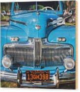 1942 Ford Super Deluxe Sedan Painted  Wood Print