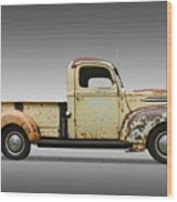1946 Ford Pickup Truck Wood Print