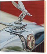 1948 Mg Tc - The Midge Hood Ornament Wood Print