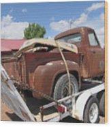 1953 Ford F-100 Truck Wood Print