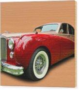 1953 Jaguar M K V II Wood Print