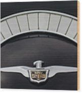 1958 Chrysler Imperial Emblem Wood Print