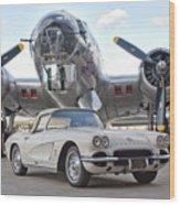 1962 Chevrolet Corvette Wood Print