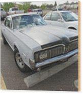 1968 Mercury Cougar Xr7 Wood Print