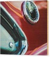1969 Ford Mustang Mach 1 Emblem Wood Print by Jill Reger