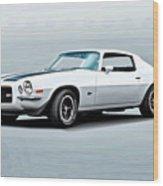 1970 Chevrolet Camaro Z28 Wood Print