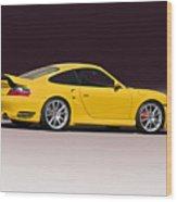 2001 Porsche 911 Turbo Wood Print