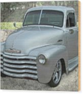 '53 Chevy Truck Wood Print