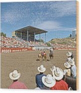 75th Ellensburg Rodeo, Labor Day Wood Print