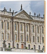 A View Of Chatsworth House, Great Britain Wood Print