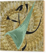 Abstract #68 Wood Print