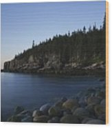Acadia National Park Wood Print