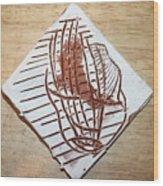 Adrift - Tile Wood Print