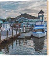 Alexandria Waterfront I Wood Print