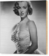 All About Eve, Marilyn Monroe, 1950 Wood Print